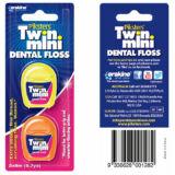 Piksters fogselyem viaszos Dental Floss Twin Mini 2x8m