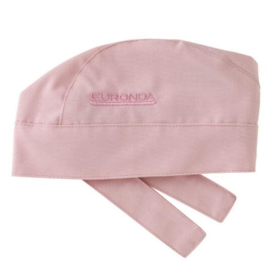 Monoart BANDANA pamut orvosi sapka rózsaszín megkötős 1db