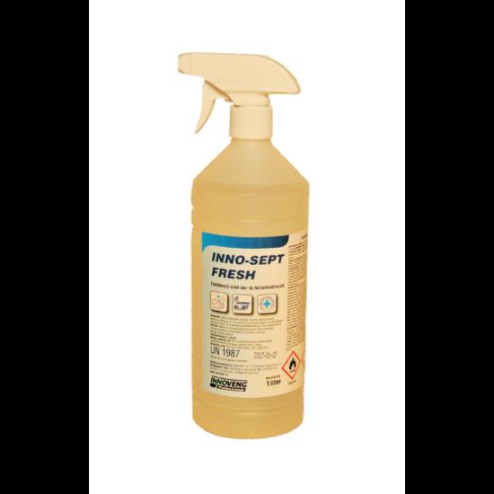 INNO-SEPT Fresh 1 L kéz és felületfertőtlenítő alkoholos szóróf.