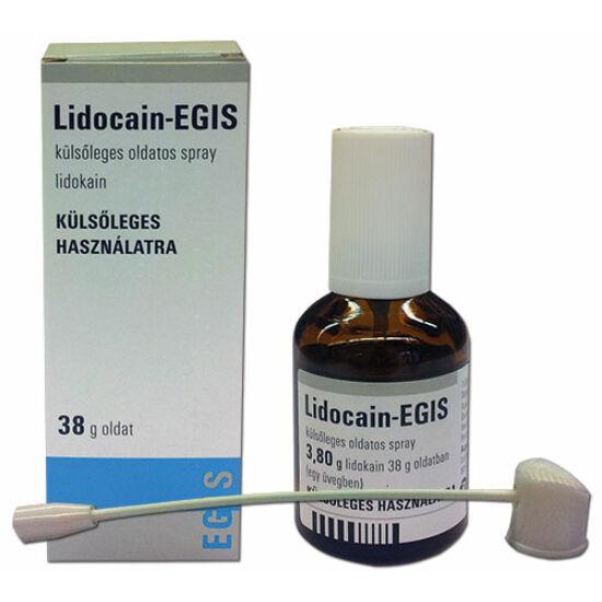 Lidocain-EGIS külsőleges oldatos spray 38g