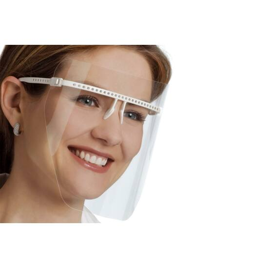 Védőmaszk VISTA-TEC ULTRALIGHT ECO fehér szett 1xkeret+5xmaszk