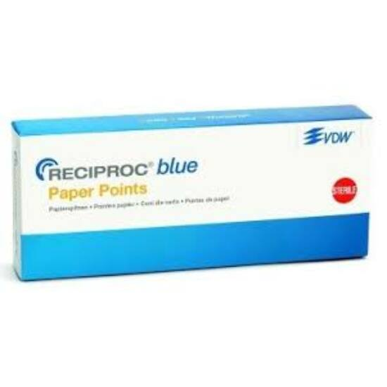 AKCIÓ - VDW Reciproc blue papírcsúcs 3x180db