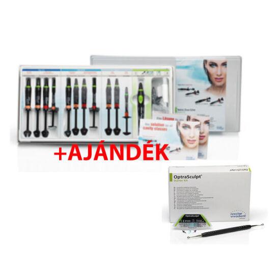 Tetric Evo Line Syringes System Kit + ajándék: 005-683067 OptraSculpt Starter Kit