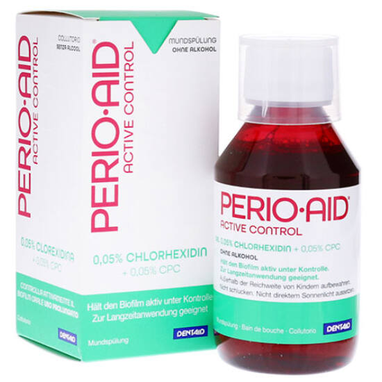 AKCIÓ - Dentaid Perio Aid - Active Control szájvíz, 150 ml - 6+1