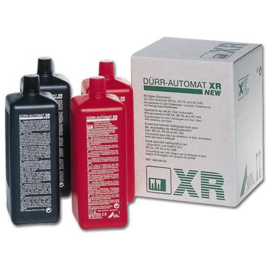 XR rtghívó vegyszer DÜRR, Automat XR, 2x5l hívó és fixáló oldat elkészítéséhez