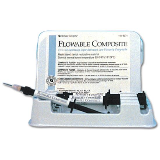 Flowable Composite 4x2g A2+20 tips HS