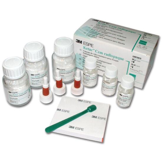 Ketac Cem klinikai (3x33g por+3x12ml folyadék)