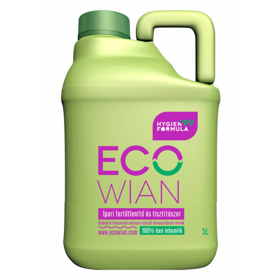 ECOWIAN Higén+99 Ipari fertőtlenítő és tisztítószer 5 liter