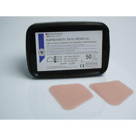 Tray Impression LC lenyomat lemez egyéni kanálhoz pink 50db HS