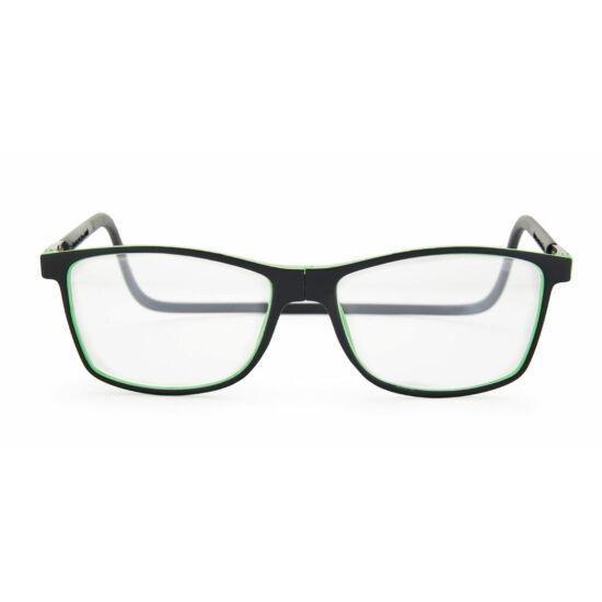 Szemüveg Fluor, zöld 1.00
