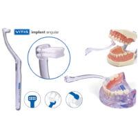 AKCIÓ - Fogkefe VITIS Implant Angular-10+2