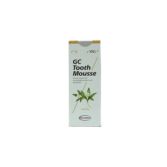 GC Tooth Mousse 1x40g Vanilla